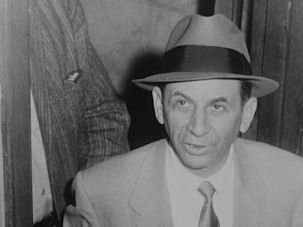 "The Talented Mr Lansky: In Zachary Lazar's novel ""I Pity the Poor Immigrant"" many of the characters assembled, such as Meyer Lansky (above) have little to do with one another."