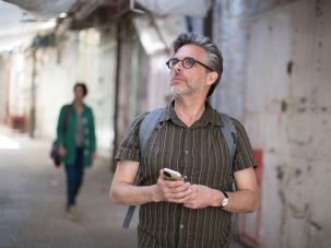 Author Michael Chabon tours the West Bank town of Hebron with Breaking the Silence.
