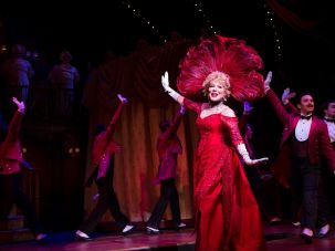 "Bette Midler in ""Hello Dolly!"""