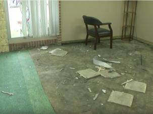The Dar Al Farooq Mosque in Minnesota was firebombed.