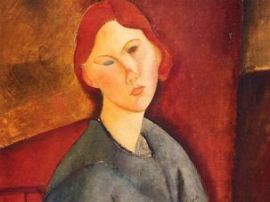 For Sale: The painting ?Portrait de Anne Bjarne? by Amadeo Modigliani will be auctioned off in Israel, but the painting won?t be present.