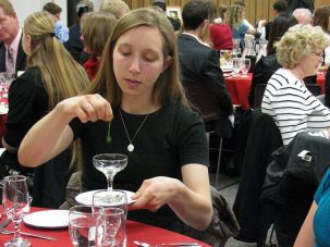 Why Is This Night Different?: Since Mormons abstain from liquor, the four cups of wine were filled instead with grape juice at this recent Seder. But students still dipped parsley in salt water, tasted bitter herbs, and ate matzo sandwiches.