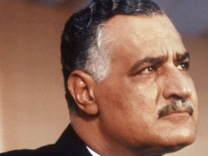 Almost Partner:  Gamel Abdel Nasser in 1957.