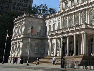 NYC City Hall.
