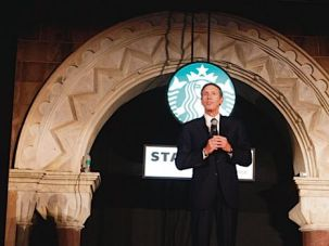 Tall Order: Starbucks CEO Howard Schultz grew up in a modest Brooklyn Jewish household.