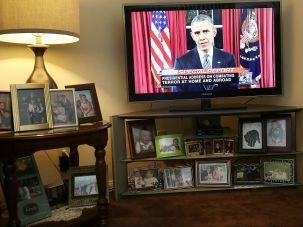 Obama addressed the nation on Hanukkah.