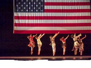 American-Made: Like the ballet 'Odetta' (left), 'No Longer Silent' reflects on history.