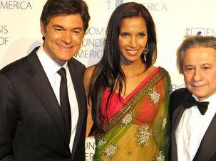 Dr.Oz, Padma Lakshmi, and Dr. Seckin
