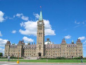 Canada's parliament building.