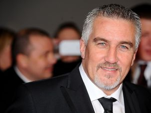 """Great British Bake Off"" judge Paul Hollywood."