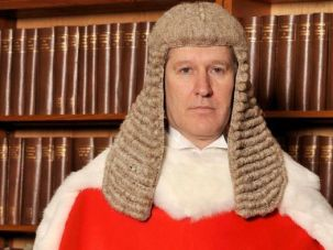 Presiding Judge: Justice Peter Jackson ruled against the transgender father.