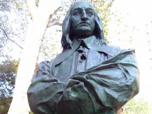 A statue of former New York Governor Peter Stuyvesant.