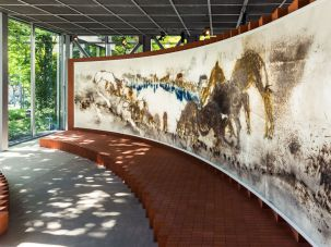 The Artist's Influence: Bernie Krause's work inspired an exhibit now showing at the Fondation Cartier in France.