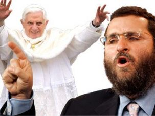 Pope Benedict XVI, Shmuley Boteach
