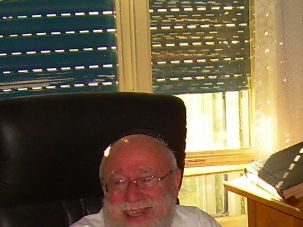 Rabbi Dov Lior, chief rabbi of Kiryat Arba and Hebron.