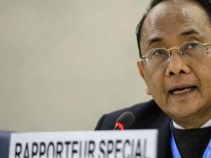 Special rapporteur Makarim Wibisono