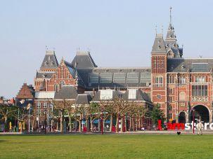 Tthe Rijksmuseum in Amsterdam