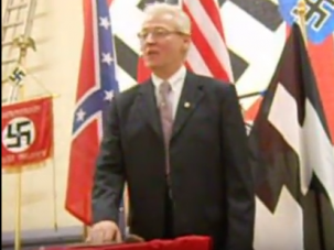 American Nazi leader Rocky Suhayda in 2010
