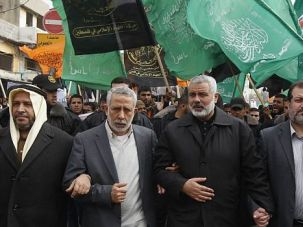 Hamas Still Outside: The Islamist Hamas movement has had a major falling out with the regime in Syria. So far, the spat has not led to a rapprochement with the U.S. or Israel.