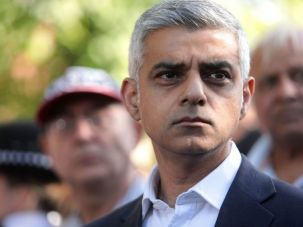 Sadiq Khan is the first Muslim mayor of London.