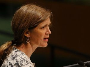 Samantha Power at UN.