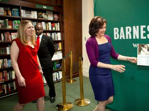"Chelsea Clinton, Sheryl Sandberg, and ""Lean In."""