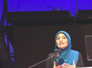 Palestinian-American activist Linda Sarsour gave the commencement speech at a CUNY graduation ceremony.