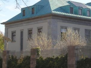 Botschaft des Staates Israel in Berlin.