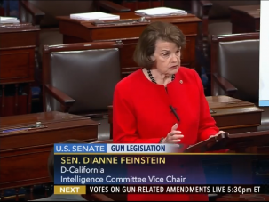 Jewish Sen. Dianne Feinstein of California advocates for tougher gun control laws following the deadliest mass shooting in U.S. history in Orlando, Florida.