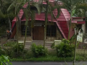 An Indonesian synagouge in the town of Tondano, North Sulawes.