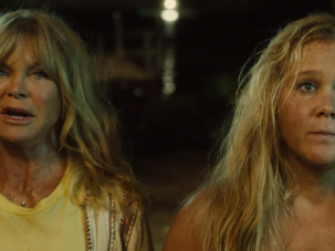 """For the Mom Who's Not A Regular Mom, She's a """"Cool Mom"""":  """"Snatched""""  Why : First reason—Goldie Hawn in her first film role in fifteen years. Second reason—Amy Schumer. Third reason—the two of them together. Hawn and Schumer are mother and daughter under hilarious circumstances, and their movie is in theaters this weekend, just in time for you and your mother to get closer over highly explicit sight gags."""