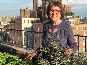 In Her Garden: Author Susan Brownmiller