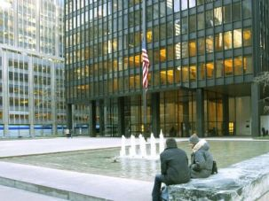Room at the Plaza: Phyllis Lambert was influential in enlisting Mies van der Rohe to design the Seagram Building.