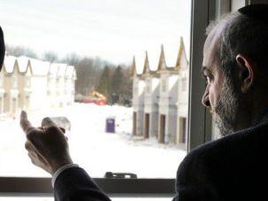 Unwelcome: Developer Shalom Lamm says he faces anti-Semitism.