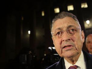 Former New York Assembly Speaker Sheldon Silver leaves a federal court in Lower Manhattan on November 30, 2015 in New York City, after being found guilty of corruption.