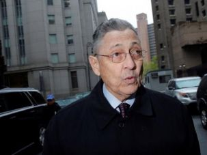 Former New York State Assembly Speaker Sheldon Silver arrives at the Manhattan U.S. District Courthouse in New York City, on May 3, 2016.