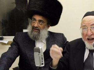 Ben Zion Shenker (right)