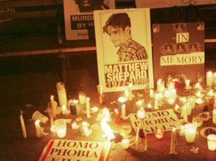 Symbol: Matthew Shepard?s murder became a rallying cry for gay rights advocates.