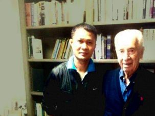 Ferdinand Capacia was the live-in caregiver to the 9th Israeli president, Shimon Peres, in the year before he died.