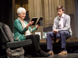 "Barbara Barrie and Gideon Glick in ""Significant Other"""