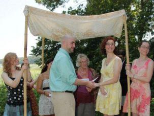 Hinda and Her Husband, Matt, Getting Married