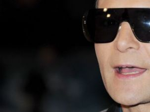 "Sunglasses at Night: No stranger to horror films himself, actor Corey Feldman dons a pair of dark shades for the world premiere of ""The Woman In Black"" at the Royal Festival Hall in London."