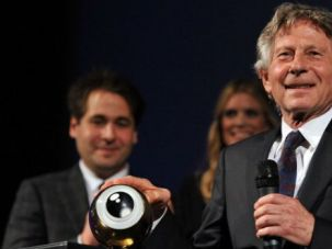 Man of the Hour: Filmmaker Roman Polanski accepts a lifetime achievement award at the 2011 Zurich Film Festival in Switzerland.