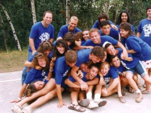 Back in the Day: Campers having fun in the summer of 1988.