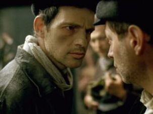"Géza Röhrig as Saul in ""Son of Saul."""