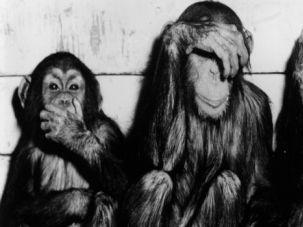 Speak Nisht Evil:  Sometimes, our ancestors? language befuddled those who tried to eavesdrop on them.