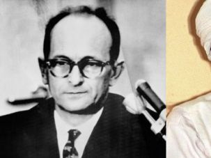 Two Mass Murderers: Eichmann and bin Laden each ended up at the bottom of the sea, but faced justice in different ways.