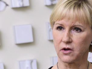 Swedish Foreign Minister Margot Wallstrom,