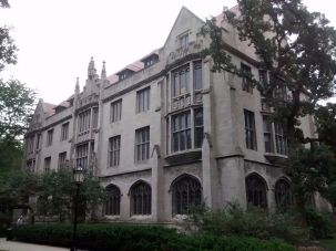 Swift Hall at the University of Chicago Divinity School.