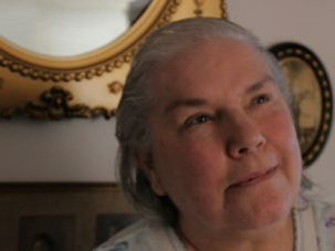 Stuck Inside: Janet Greenblat is still trapped inside her apartment in Coney Island, with no heat or power.